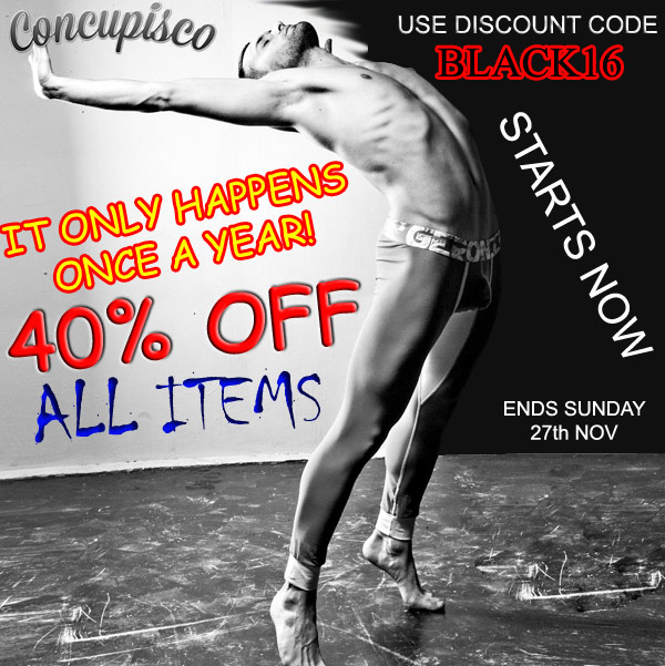 black friday sale at concupisco
