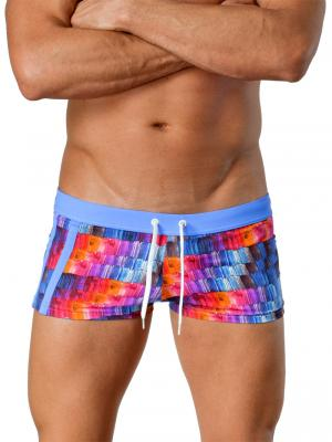 Geronimo Square Shorts, Item number: 1408b2 Pink, Color: Multi, photo 1