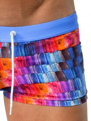 Geronimo Square Shorts, Item number: 1408b2 Pink, Color: Multi, photo 4