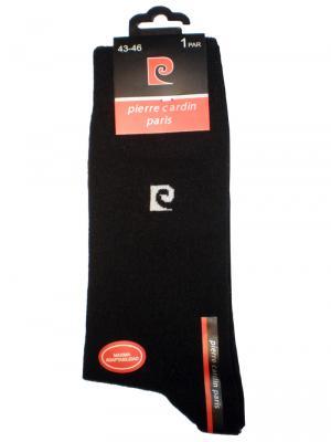 Pierre Cardin Plain Socks, Item number: PC4, Color: Black, photo 3