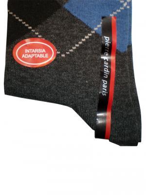 Pierre Cardin Argyle Socks, Item number: PC9-43-46 Dark Grey, Color: Multi, photo 2