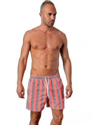 Geronimo Swim Shorts, Item number: 1402p1 Red, Color: Red, photo 2