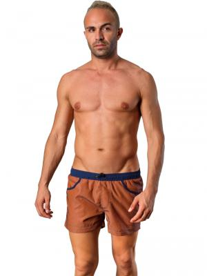 Geronimo Swim Shorts, Item number: 1410p1 Brown, Color: Brown, photo 2