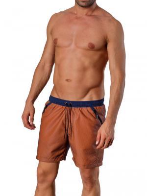 Geronimo Swim Shorts, Item number: 1410p4 Brown, Color: Brown, photo 2