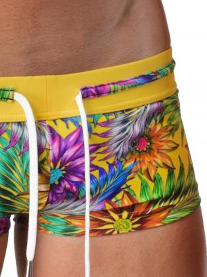 Geronimo Square Shorts, Item number: 1420b2 Yellow, Color: Multi, photo 4