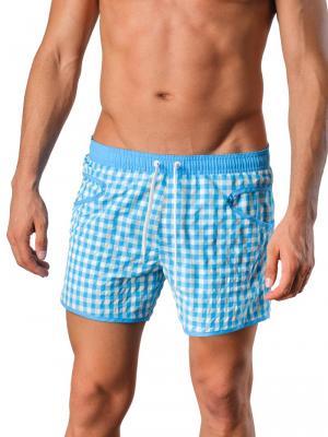 Geronimo Swim Shorts, Item number: Silvester Blue, Color: Blue, photo 1