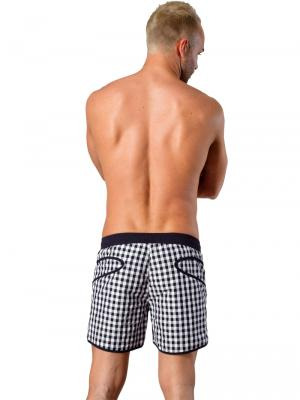 Geronimo Swim Shorts, Item number: Silvester Black, Color: Black, photo 6