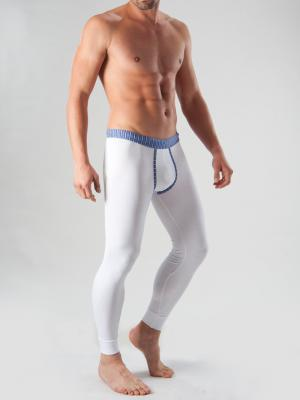Geronimo Long Johns, Item number: 1265j6 White with Blue, Color: White, photo 3