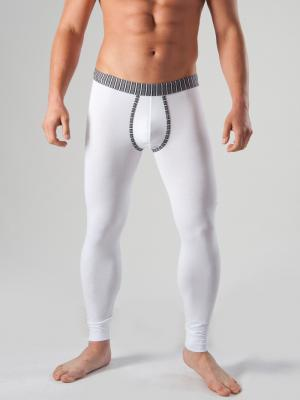 Geronimo Long Johns, Item number: 1265j6 White with Grey, Color: White, photo 1