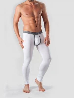 Geronimo Long Johns, Item number: 1265j6 White with Grey, Color: White, photo 3