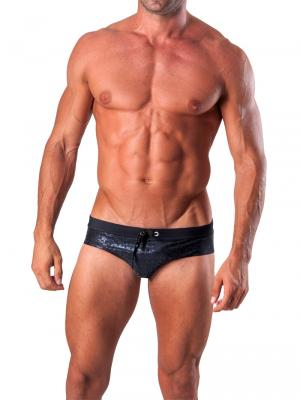 Geronimo Briefs, Item number: 1514s2 Black Swim Brief, Color: Black, photo 2