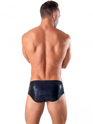 Geronimo Briefs, Item number: 1514s2 Black Swim Brief, Color: Black, photo 5