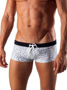 Square Shorts, Geronimo, Item number: 1514b2 White Swim Hipster