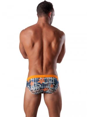 Geronimo Briefs, Item number: 1501s2 Orange Swim Brief, Color: Orange, photo 5