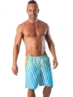 Geronimo Board Shorts, Item number: 1553p4 Light Boardshort, Color: Multi, photo 2
