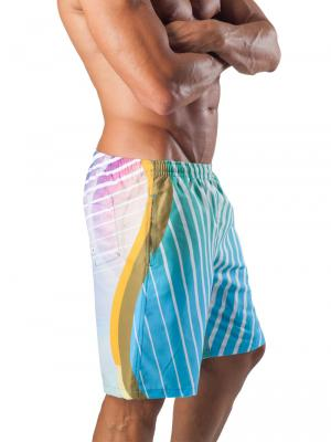 Geronimo Board Shorts, Item number: 1553p4 Light Boardshort, Color: Multi, photo 4