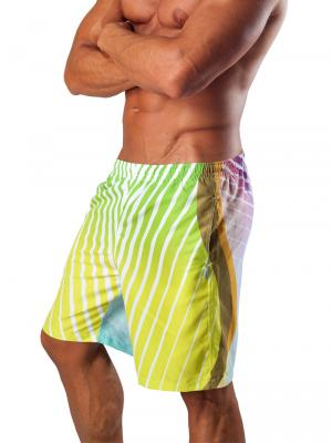 Geronimo Board Shorts, Item number: 1553p4 Green Boardshort, Color: Multi, photo 4