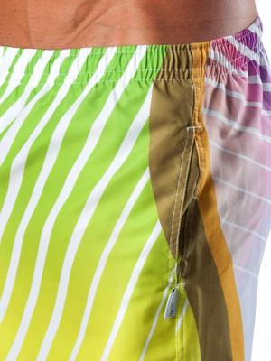 Geronimo Board Shorts, Item number: 1553p4 Green Boardshort, Color: Multi, photo 5