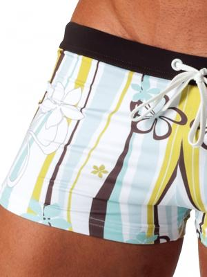 Geronimo Boxers, Item number: 1503b1 Light Swim Trunk, Color: Multi, photo 3
