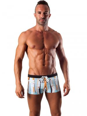 Geronimo Boxers, Item number: 1503b1 Light Blue Swim Trunk, Color: Blue, photo 2