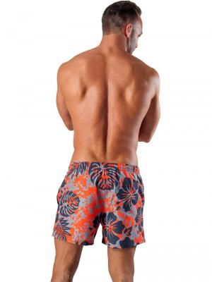 Geronimo Swim Shorts, Item number: 1502p1 Orange Swim Short, Color: Orange, photo 5