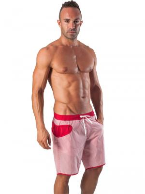 Geronimo Board Shorts, Item number: 1540p4 Red Boardshort, Color: Red, photo 2