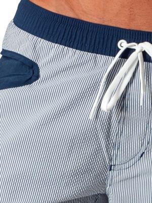 Geronimo Board Shorts, Item number: 1540p4 Navy Boardshort, Color: Blue, photo 5