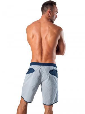 Geronimo Board Shorts, Item number: 1540p4 Navy Boardshort, Color: Blue, photo 7
