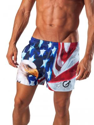Geronimo Swim Shorts, Item number: 1532p1 Eagle Swim Short, Color: Multi, photo 1