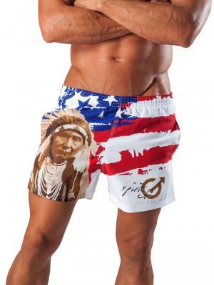 Geronimo Swim Shorts, Item number: 1532p1 American Swim Short, Color: Multi, photo 1