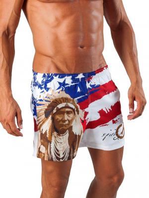 Geronimo Swim Shorts, Item number: 1532p1 American Swim Short, Color: Multi, photo 2