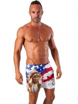 Geronimo Swim Shorts, Item number: 1532p1 American Swim Short, Color: Multi, photo 4