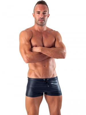 Geronimo Boxers, Item number: 1517b1 Black Swim Trunk, Color: Black, photo 2