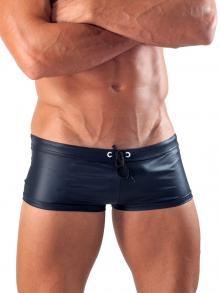 Square Shorts, Geronimo, Item number: 1517b2 Black Swim Hipster