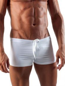 Boxers, Geronimo, Item number: 1516b1 White Swim Trunk
