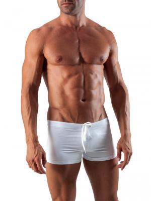 Geronimo Boxers, Item number: 1516b1 White Swim Trunk, Color: White, photo 2