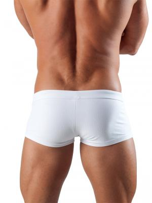 Geronimo Square Shorts, Item number: 1516b2 White Swim Hipster, Color: White, photo 4