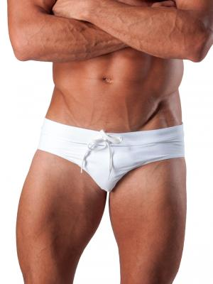 Geronimo Briefs, Item number: 1516s2 White Swim Brief, Color: White, photo 1