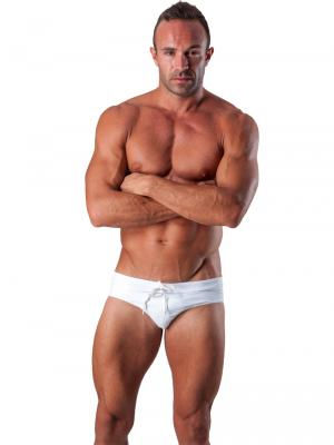 Geronimo Briefs, Item number: 1516s2 White Swim Brief, Color: White, photo 2
