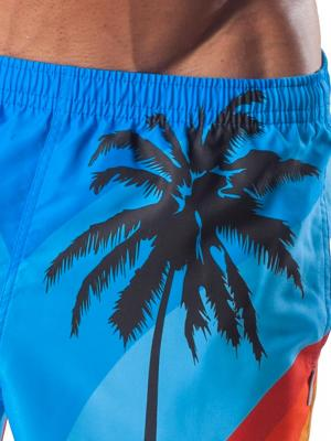 Geronimo Board Shorts, Item number: 1558p4 Blue Boardshorts, Color: Blue, photo 3