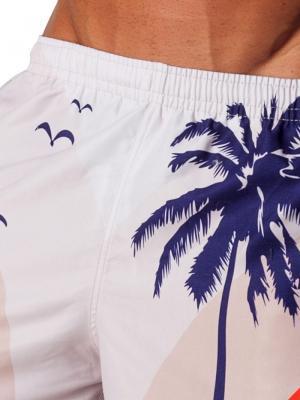 Geronimo Board Shorts, Item number: 1558p4 White Boardshorts, Color: White, photo 3