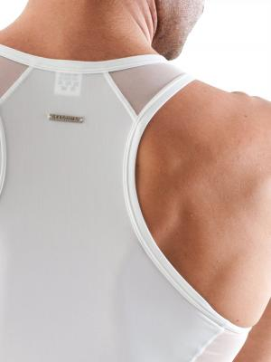 Geronimo Tank top, Item number: 1360t1 White Tank top, Color: White, photo 3