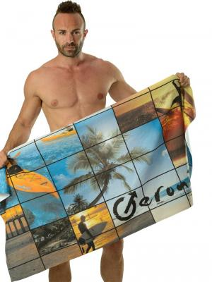 Geronimo Beach Towels, Item number: 1604x1 Tropical Beach Towel, Color: Multi, photo 3