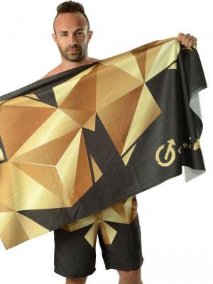 Geronimo Beach Towels, Item number: 1610x1 Black Beach Towel, Color: Black, photo 3