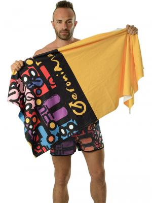 Geronimo Beach Towels, Item number: 1616x1 Yellow Beach Towel, Color: Yellow, photo 3