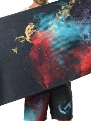 Geronimo Beach Towels, Item number: 1614x1 Dark Space Towel, Color: Black, photo 1