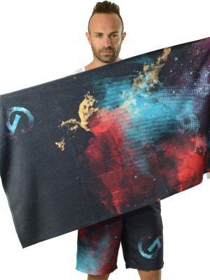 Geronimo Beach Towels, Item number: 1614x1 Dark Space Towel, Color: Black, photo 3