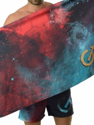 Geronimo Beach Towels, Item number: 1614x1 Gold Space Towel, Color: Multi, photo 1