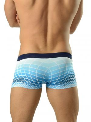Geronimo Boxers, Item number: 1602b1 Blue Swim Trunk, Color: Blue, photo 4