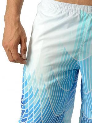 Geronimo Board Shorts, Item number: 1602p4 Blue Boardshorts, Color: Blue, photo 3